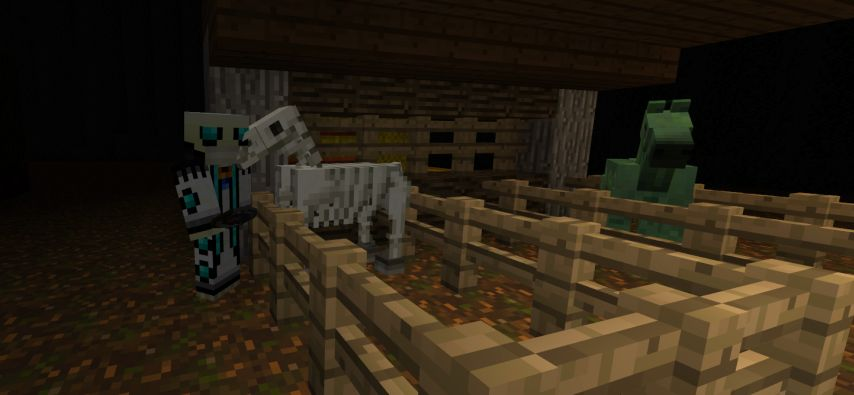 froggerooh's spooky horse